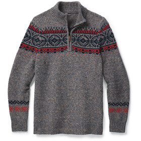 Smartwool CHUP Hansker Sweat À Fermeture Éclair Torse Homme, ash/light grey heather marl